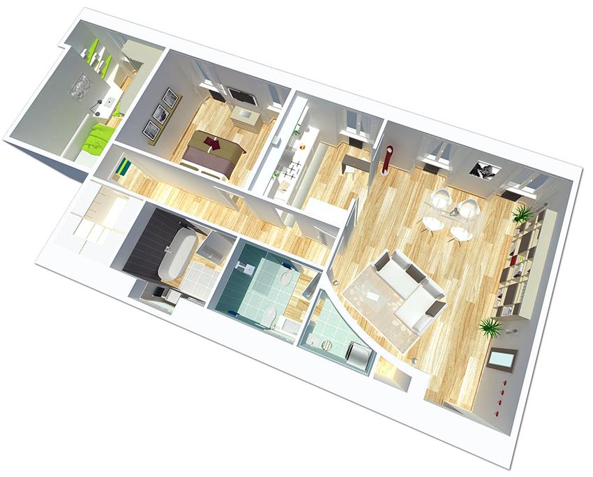 Progetti case moderne 3d tutte le immagini per la - Progetti di interni case moderne ...